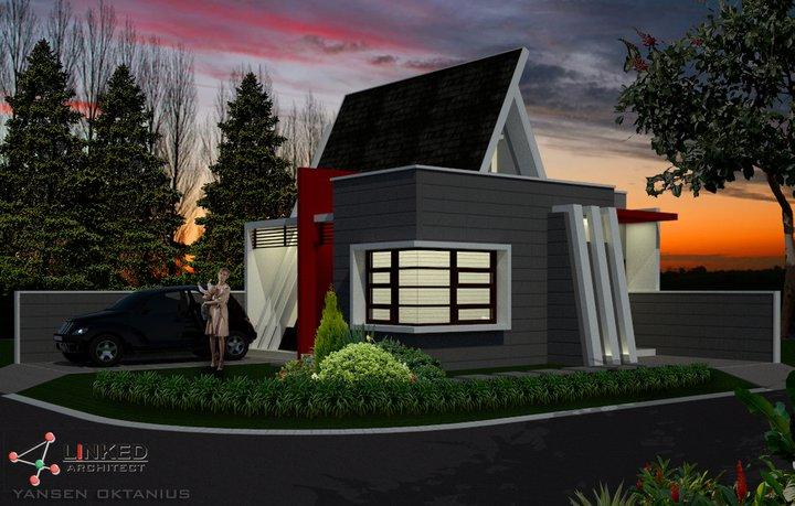 Rumah ... & Rumah Mungil nan ber-Estetika part 1 | 4Linked Architect